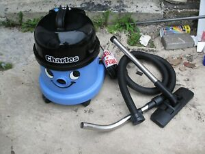 Henry Charles NUMATIC Wet and Dry Vacuum Cleaner, 15 Litre, 1060 W, Blue