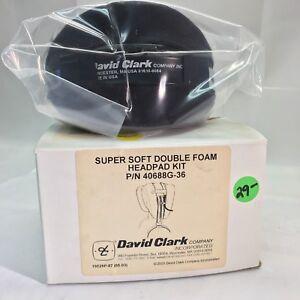 David Clark SuperSoft Double Foam Headpad Kit 40688G-36 NIB