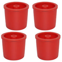 4x Stainless Steel Filters Refillable Coffee Capsules Pod Cup For Illy Red