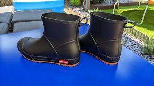 Men Short Leg Wellington Rain Boots Waterproof