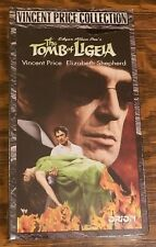 Vincent Price Collection Tomb Of Ligeia VHS New Sealed Shrink Wrapped