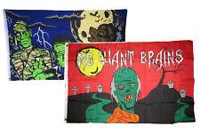 3x5 Happy Halloween 2 Pack Flag Wholesale Set Combo #4 3'x5' Banner Grommets