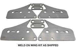 SWAG Weld On Wing Extentions For The Harbor Freigh Tubing Roller