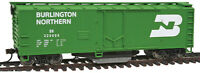 Walthers Trainline HO Scale 40' Box Car Track Cleaner Burlington Northern/BN