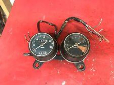 1972 Honda CL175 Speedometer Tachometer CL 175  Bracket Gauge Cluster Instrument