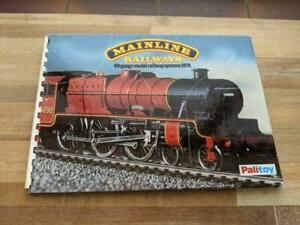 MAINLINE RAILWAYS CATALOGUE 1979 WITH BOARD COVERS ORIGINAL