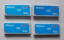 Lot de 4 Boites en Carton Ampoules Miniature Light Bulbs Sun East