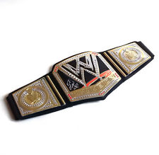 WWE Wrestling WWE CHAMPION Roleplay Toy Costume Belt signed By BRET HITMAN HART
