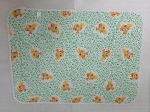 Vtg ELMO FAIRY SESAME STREET MUPPETS JIM HENSON Baby Crib Quilt Blanket Nursery