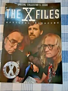 X-Files 1998 The Official Magazine (Official Fan Club) Lone Gunmen Cover Photo