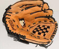"Wilson A350 11"" Ao352 Tmlb11 Genuine Leather Baseball Glove Lht Left Hand Throw"