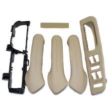 Beige Inside Door Handle Cover Bracket Grab Bezel Trim For Jetta Golf MK4 6 PCS