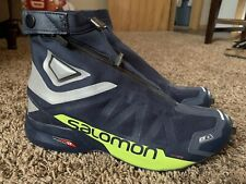 Salomon Snowcross 2 CSWP Waterproof Winter Running Trail Shoe Mens 12.5