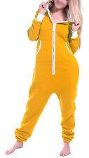 SkylineWears Womens Ladies Non Footed One Piece Pajamas Hooded Jumpsuit Playsuit