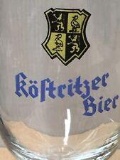 Köstritzer Bier - altes DDR Bierglas Glas Biertulpe
