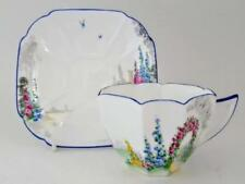 Tea Cup & Saucer Art Deco Decorative Shelley Porcelain & China