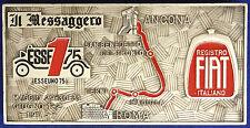 Placca Badge IL MESSAGGERO Esseuno 75  ANCONA - ROMA 1975  FIAT smalti #KG337