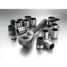 Craftsman 19 Piece 1/2 Inch Drive Universal Socket and Ratchet Set