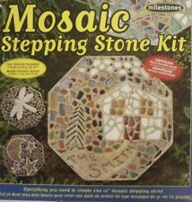 Milestones - Mosaic Stepping-Stone Kit (New sealed) Pattern Dragonfly Moon Star