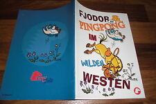 P. Gangloff -- Fiodor & PING-PONG au Far West // bande dessinée de ponyclub 2008
