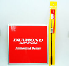 DIAMOND SRH-771 VHF/UHF EXTRA GAIN HANDHELD ANTENNA. SRH771. ORIGINAL ITEM.
