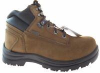 "KODIAK 6"" BLUE LIFE MEN'S BROWN NUBUCK WATERPROOF STEEL-TOE BOOTS #214010"
