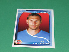 418 A. ISAKSSON PSV EINDHOVEN UEFA PANINI FOOTBALL CHAMPIONS LEAGUE 2008 2009