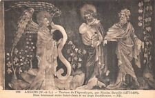 ANGERS - tenture de l'apocalypse -Dieu bénissant entre St Jean et un ange