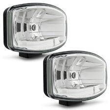 Pair Of Hella Jumbo 320FF Driving Lamps With Clear Lens And With Position Light