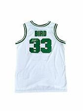 293a9521772 Larry Bird Signed Boston Celtics WHITE Jersey JSA