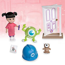 Disney Monsters Inc Boo Mini Animator Doll Playset With Carry Case Mike Wazowski