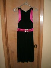 Taboo 2X Black & Pink cocktail Party Dress Prom NWT