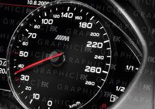 X8 PREMIUM BMW M Sport Logo Auto Interni TACHIMETRO Speedo Decalcomanie Adesivi