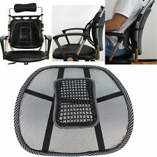 Car Sit Right Comfort Mesh Office Chair Seat Lumbar Back Support Cushion Black
