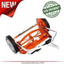 Eco Friendly Reel Lawn Mower Manual Push Walk-Behind Lightweight Grass Cutter
