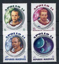 Malediven 379/82 postfrisch / Weltraum ...................................1/2519