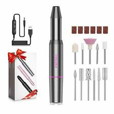 Electric Nail Files, Professional Electric Nails Drill Kit for Acrylic Nails Gel