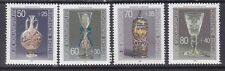 Germany B647-50 Mnh 1986 Glassware in German Museums Complete Set Very Fine