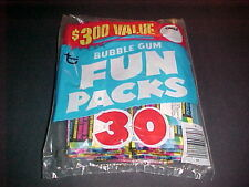 1970s TOPPS FUN PACK 30CT FACTORY SEALED BAG