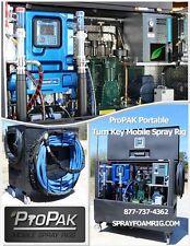 ProPAK Portable Mobile SPF Spray Foam Systems Rig Graco Reactor2 E-30