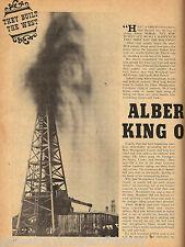 King Of The Oil Drillers - Albert McBride + Oil History