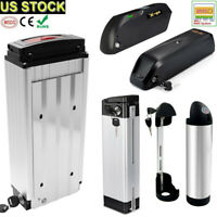 Lithium Electric Bike Battery 24/36/48V 250W 350W 500W 1000W 1500W Motor E-bike