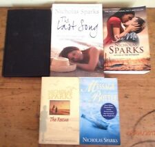 ~NICHOLAS SPARKS x 5 - THE RESCUE, NIGHTS IN RODANTHE, SEE ME + 2 - ALL GC~