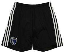 adidas Men's MLS Team Replica Short, San Jose Earthquakes- Black