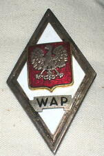 1953 Polish Military Academy W A P  Medal Academy of the General Staff