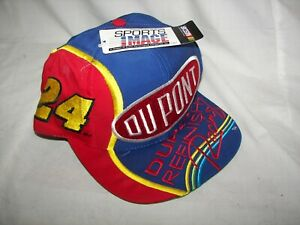 NOS Jeff Gordon Chase Authentics DuPont Refinish Racing Embroidered Hat L@@K!!