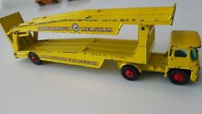 Matchbox Lesney King Size K-8B Guy Warrior Car Transporter color yellow 1967