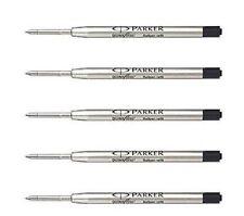 Jotter 24 x Parker Quink Flow Ball Point Pen Refill Black Ink Fine Nib