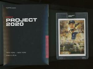 2020 Topps Project #82 Derek Jeter Andrew Thiele RC Rookie