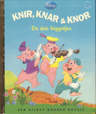 KNIR, KNAR & KNOR (DE DRIE BIGGETJES) - GOUDEN BOEKJE DISNEY FAMILE DEEL 11